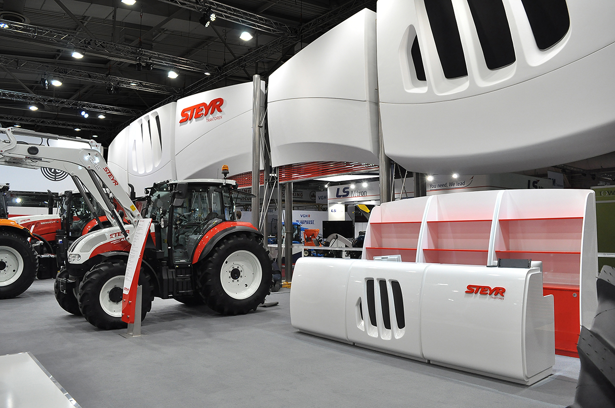 STEYR New Exhibition System - CARMADESIGN